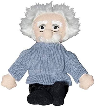 Albert Eistein Doll Plush