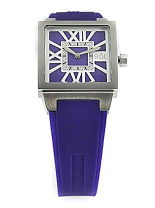 SÖL- Reloj de Señora movimiento suizo con correa de caucho