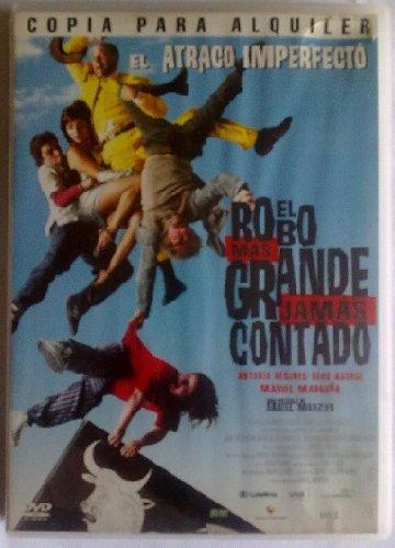 EL ROBO MAS GRANDE JAMAS CONTADO, DVD
