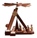 1-tier German Christmas Pyramid modern Nativity - 30,5cm / 12 inch - ULMIK