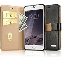 Labato Leather Wallet Case for iPhone