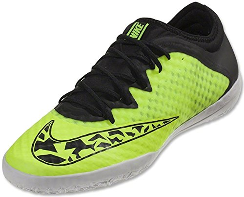 Nike Elastico Finale III IC Indoor Soccer Shoe (Volt, Black) Sz. 7.5