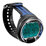 Cressi Leonardo Dive Computer Watch -Wrist (Black / Blue )