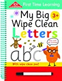 Kay Massey First Time Learning Big Wipe Clean- Letters