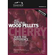 Traeger Industries PEL309 Wood Barbeque Pellets-CHERRY BARBEQUE PELLETS