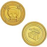 Plastic Gold Treasure Coins, 30ct