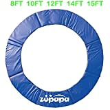 8FT 10FT 12 FT 14 FT 15 FT Zupapa ® Trampoline pad replacement Surround Spring Cover Padding