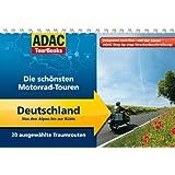 ADAC TourBooks Deutschland: Von den Alpen bis zur Küste: Die schönsten Motorrad-Touren