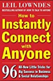 img - for How to Instantly Connect with Anyone: 96 All-New Little Tricks for Big Success i book / textbook / text book