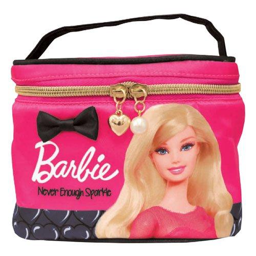 バービー Barbie バニティポーチ フューシャピンク10109【化粧ポーチ メイク かわいい キャラクター グッズ 雑貨】