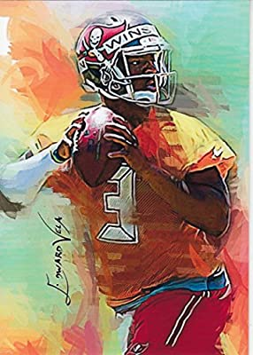 Jameis Winston #2: Tampa Bay Buccaneers - Quarterback - Unlimited Edition Sketch Cards!