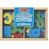 Melissa & Doug Wooden Alphabet Magnets