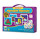 The Learning Journey Match It! Alphabet Memory