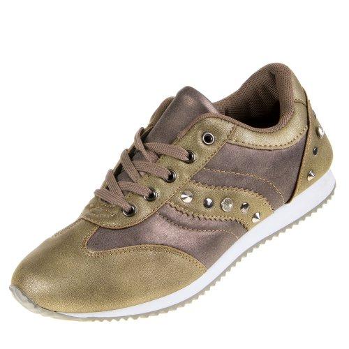 isotoner-bk-7-il-tempo-libero-scarpe-marrone-cachi-36-eu