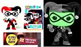 POP Harley Quinn Variant Vinyl Figure PX PREVIEWS EXCLUSIVE Glow In The Dark - Funko Toys - UNCIRCULATED Factory Sealed