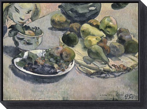 Fruit, 1888 by Paul Gauguin Framed Canvas