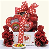 Cool Sweets & Valentine Treats: Valentines Day Kids Gift Basket