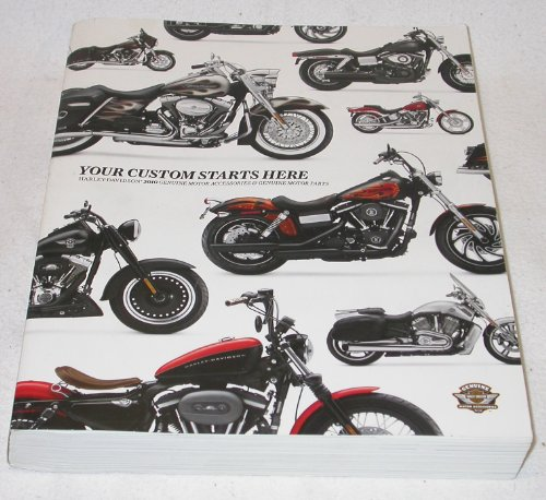 2010 Harley Davidson Genuine Motor Accessories and Genuine Motor Parts Catalog (Harley Accessory Catalog compare prices)