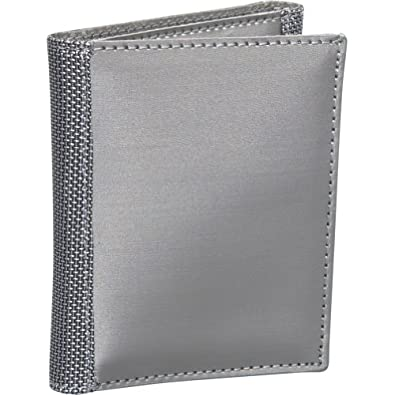 Stewart/Stand Tri-Fold Wallet,Silver,one size