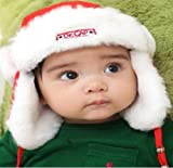 Susen Brand New Warming Fashion Korean Plus Thick Velvets Children Lei Feng Earflap Cap (Red)