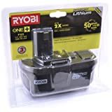Ryobi P105 18-volt One+ Lithium Ion High Capacity Battery (in Retail Packaging)
