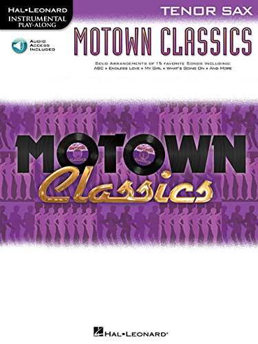 Motown Classics For Tenor Sax - Instrumental Play-Along Cd/Pkg