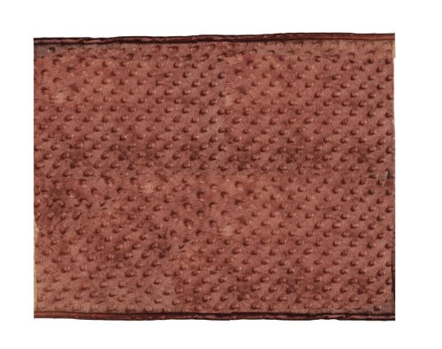 Patricia Ann Designs Chocolate Brown Minky Dot Changing Mat, Tan Fleece and Chocolate Satin Trim