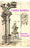 Three Romes (Kindle Singles)