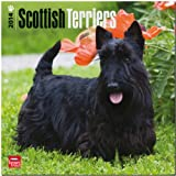 Scottish Terriers 2014 Wall BrownTrout