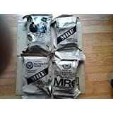 4 Individual Meals - MRE Star Ready to Eat Complete Meals w/ Flameless Heaters - Variety of Meals - Great for Bugout Bug Out Survival Emergency Bags Kits for Disasters 2012 Zombie Apocalypse