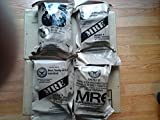 Genuine Military Mre 4 Complete Meals Assorted