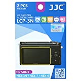 JJC LCD GUARD FILM/液晶保護フィルム LCP-3N SONY/ソニー NEX-3N/NEX-7/NEX-6/ILCE-5000(α5000)/ ILCE-6000(α6000) 対応