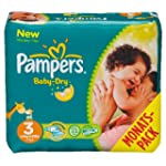 Pampers Windeln Baby Dry Gr.3 Midi 4-...