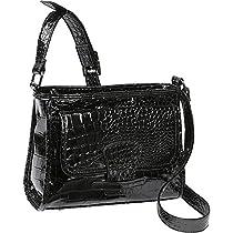 Soapbox Bags Katie Cross Body (Black Croc)