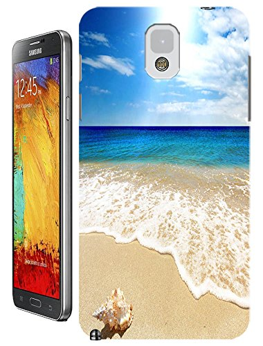 Cell Phone Case Beach Design Beautiful Sunshine Water Trees For Samsung Galaxy Note 3 No.3