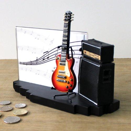 My-Music-GiftsAmp-Gitarre-Bilderrahmen-Vintage-Stil