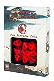 Official Legend of the 5 Rings 10xD10 Dice Set (The Scorpion Clan)