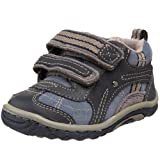 Stride Rite SRT Landon Shoe (Toddler),Navy/Blue/Stone