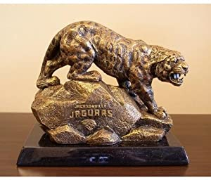 Jacksonville Jaguars Desktop Statue by Wild Sports