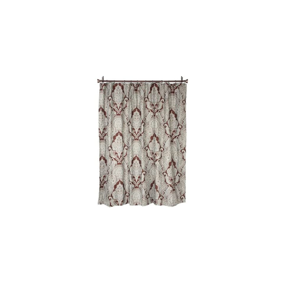 Croscill Royalton Shower Curtain Bath Towels Brown