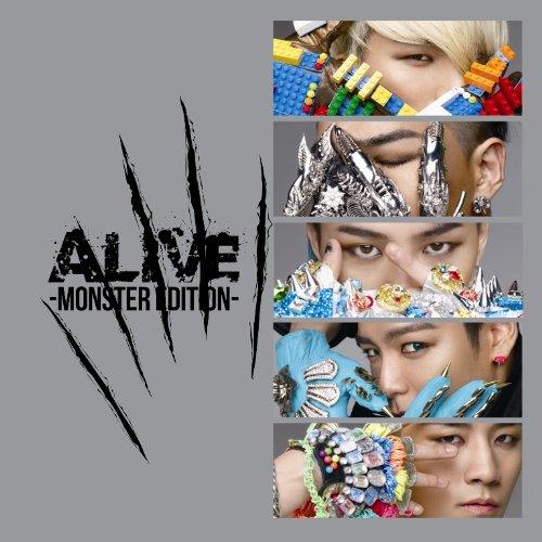 MONSTERの入っているアルバム ALIVE -MONSTER EDITION-をAmazonでチェック!