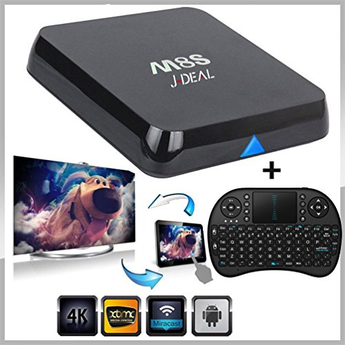[Free Wireless keyboard + Mouse] J-DEAL® M8S Android 4 4 TV - Import It All