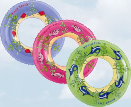 Baby Childrens 22inch (56cm) Sea Life Swim Ring Great Swimming Ring, Swimming Aid for Children