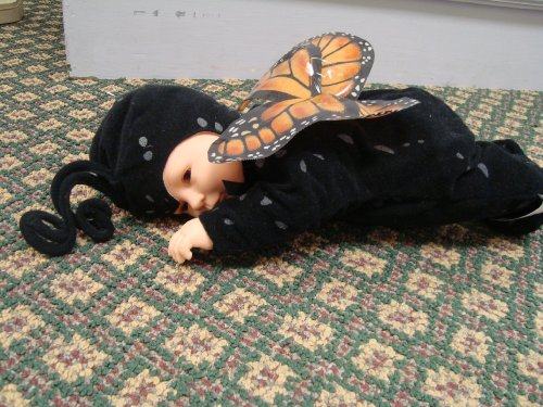 Baby Butterflies by Anne Geddes 9 Plush Bean Filled Doll by Anne Geddes