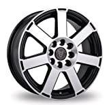 15 Inch Wolfrace Eurosport Urban Racer 7 Black Polished Alloy Wheels - 1 Wheel Per Purchase