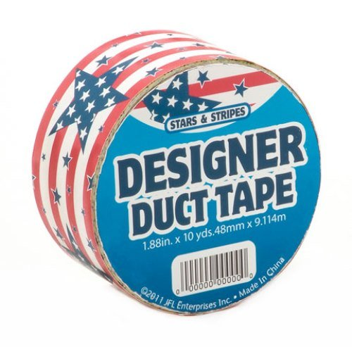 Just for Laughs Stars & Stripes Designer Duct Tape (10-Yard)