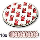 Nemaxx 10x NX1 Quickfix Magnet für Rauchmelder / Funkrauchmelder / 230V Rauchmelder