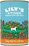 Lily's Kitchen Organic Fishy Fish Pie With Peas for Dogs 400 g (Pack of 3)