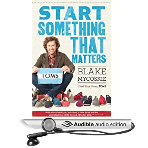 a review of start something that matters a book by blake mycoskie Find all available study guides and summaries for start something that matters by blake mycoskie if there is a sparknotes, shmoop, or cliff notes guide, we will have it listed here.