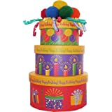 Art of Appreciation Gift Baskets Happy Birthday To You Snacks and Treats Tower